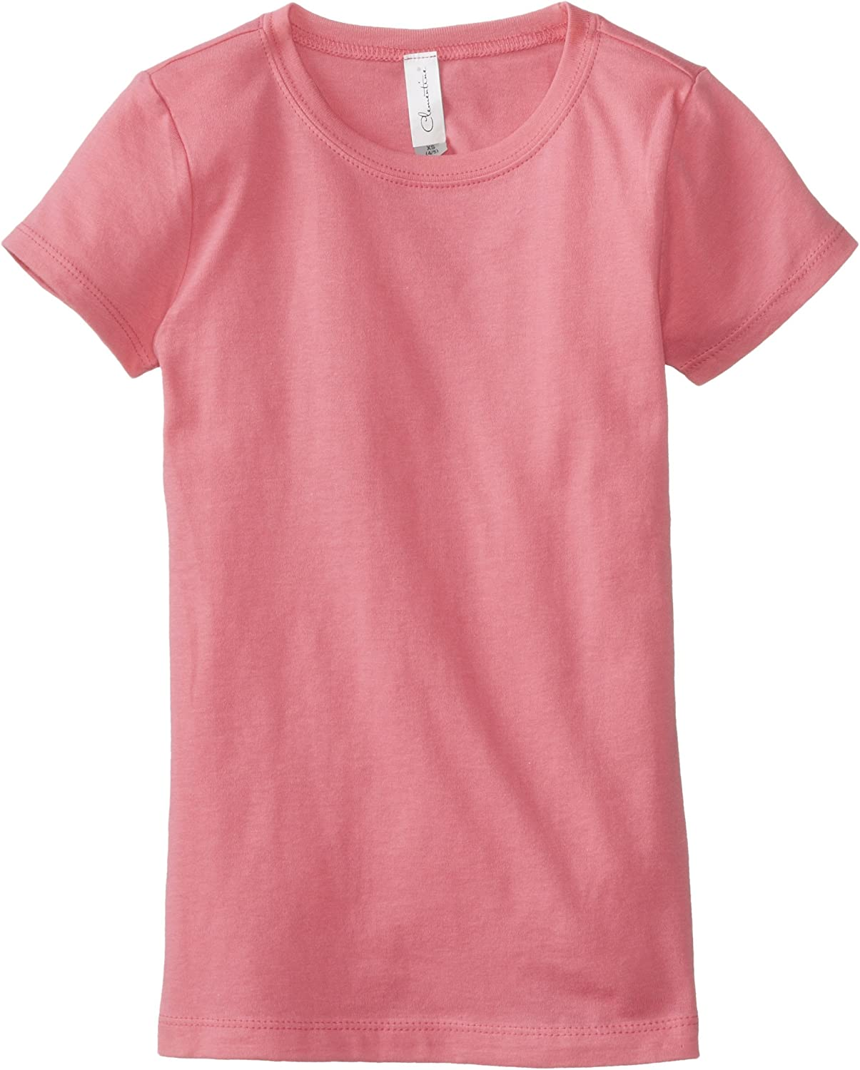 Clementine Girls T Crew Neck 100/% Soft Cotton Short Shirts Tees Assorted Colors