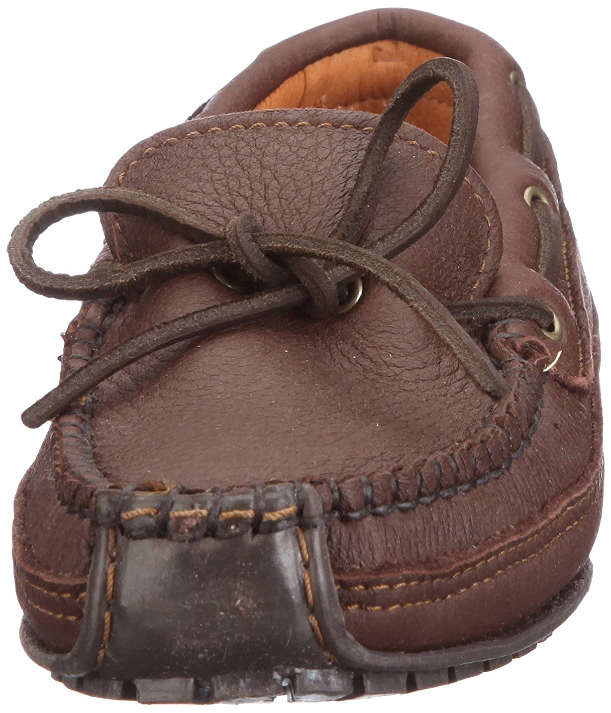 Minnetonka Moosehide Weekend Moc - Mocasines Hombre, Marrón (Chocolate), 40.5: Amazon.es: Zapatos y complementos