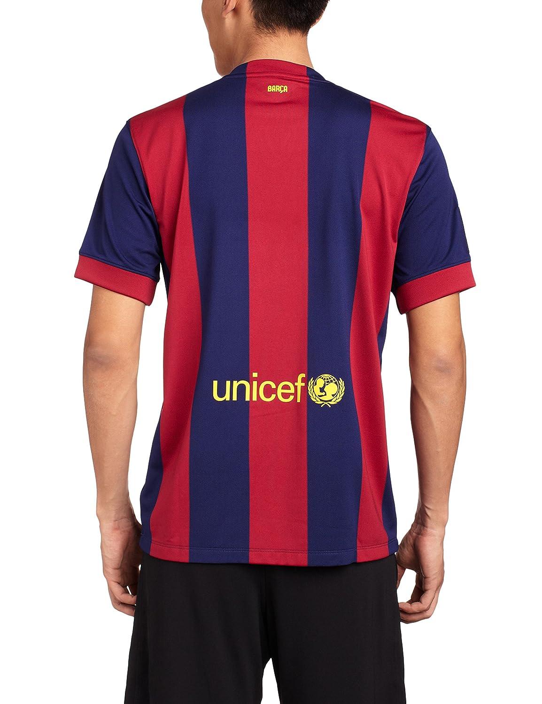 Nike Fútbol Club Barcelona (FCB) Local 2014/2015 - Camiseta de fútbol para hombre, color azul, talla XL: Amazon.es: Deportes y aire libre