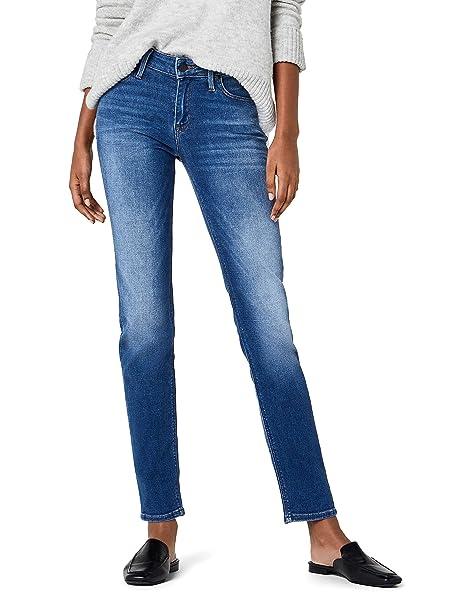 Slim Fit Blue Doodle Lee Women/'s Jeans Elly Blue