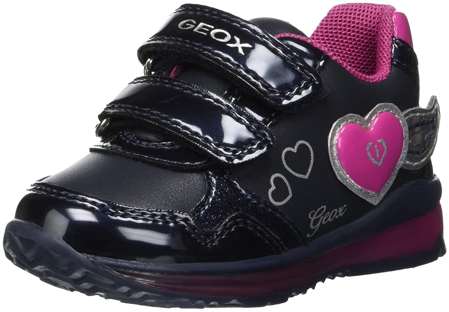 Geox B Todo A, Sneakers Basses bébé Fille