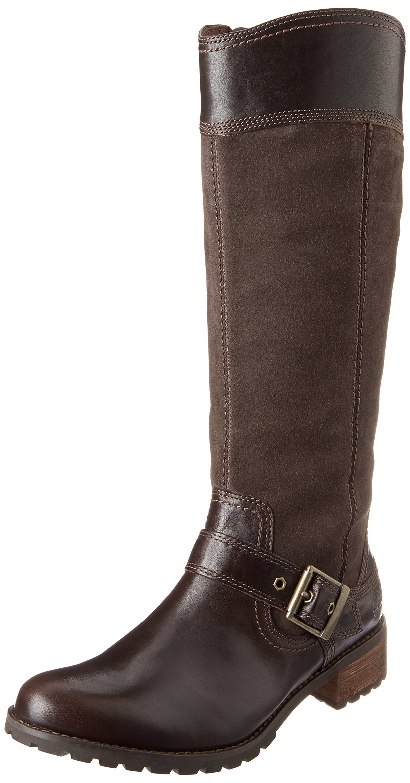Timberland Women's EK Bethel Tall Harness Boot,Brown,6 W US by Timberland (Image #1)