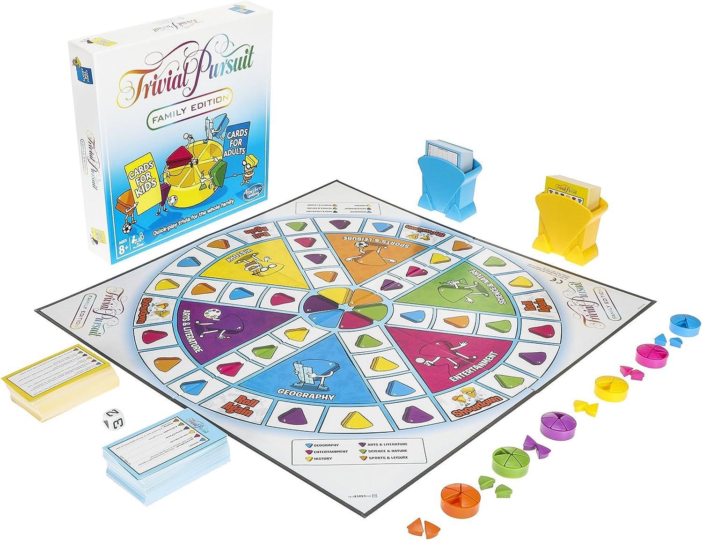 Hasbro Gaming Trivial Pursuit - Juego rápido para toda la familia, Versión Inglesa: Amazon.es: Juguetes y juegos
