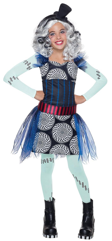 Disfraz de Frankie Stein Monster High classic para niña - M: Amazon.es: Juguetes y juegos