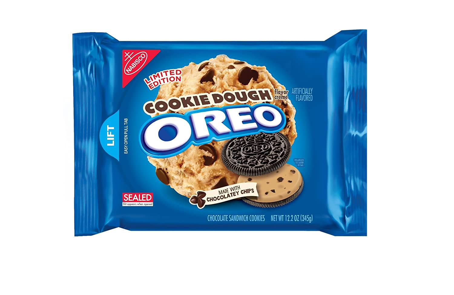 Amazon.com: Oreo Cookie Dough Limited Edition Cookies (Cookie ...
