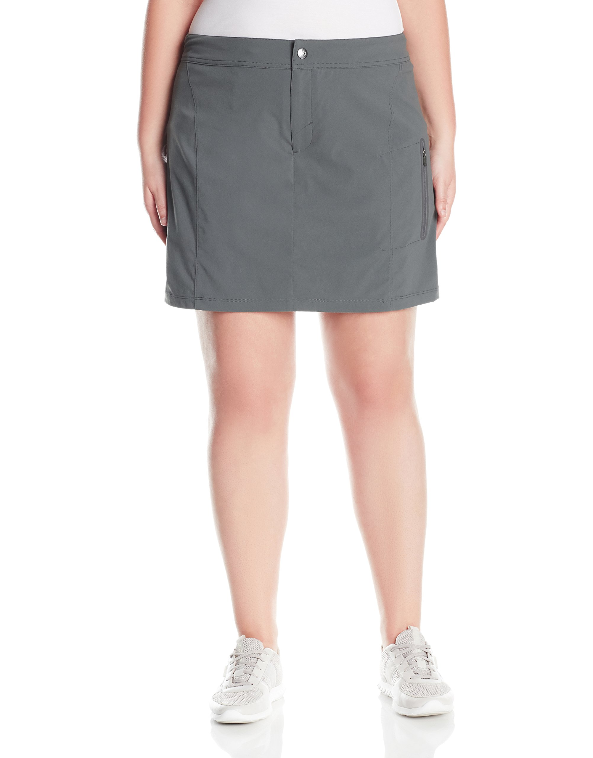 Columbia Women's Plus Size Just Right Skort, Grill, 18W