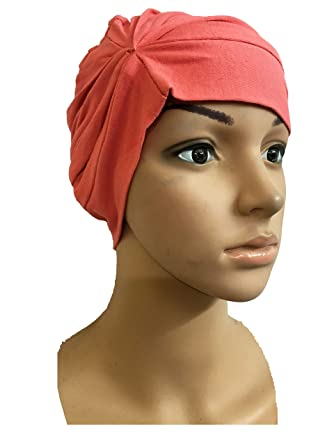 PEACH CHEMO BEANIES CANCER CAPS WOMEN SUMMER CHEMO CAPS SLEEP TURBAN FOR WOMEN  UNDERSCARF CAPS UNDER HIJABS WOMENS PREGNANCY CAPS EAR COVER CAP COTTON CAPS  ... 51d63e5a448e