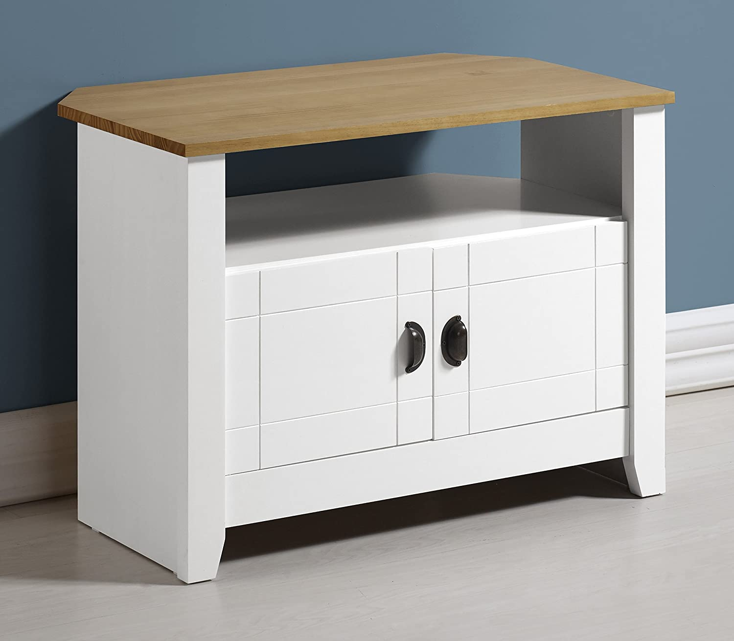 One Size White Seconique Ludlow TV Unit