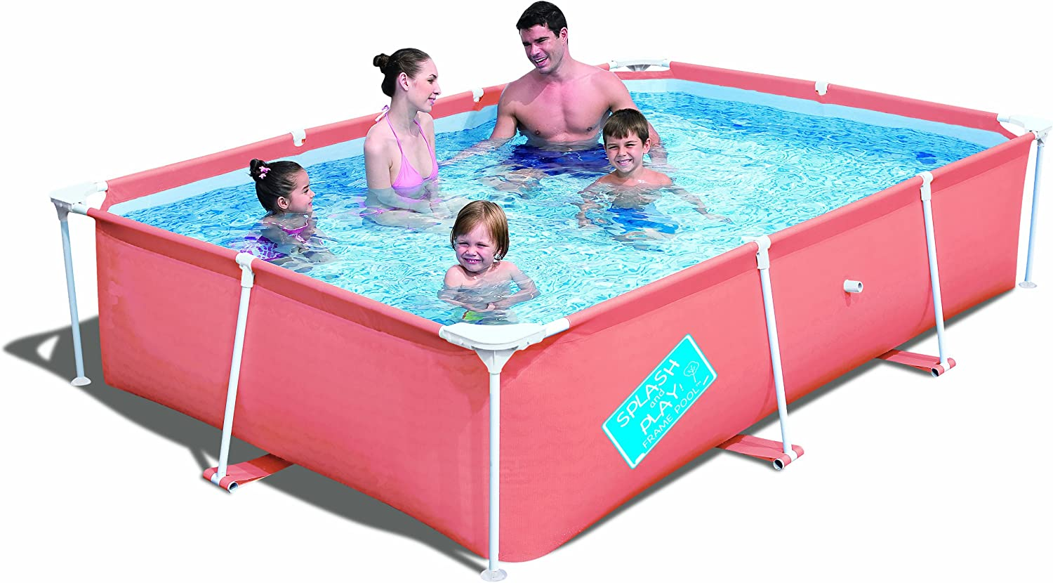 Piscina Rectangular Duro para Niños Splash & Play: Amazon.es ...