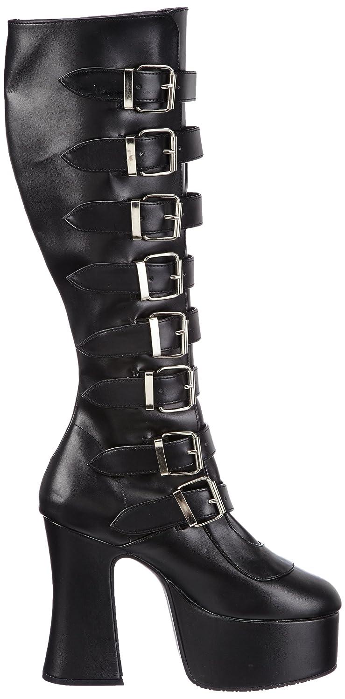 SLUSH-249, bottes & bottines femme, Noir (schwarz), 44Demonia