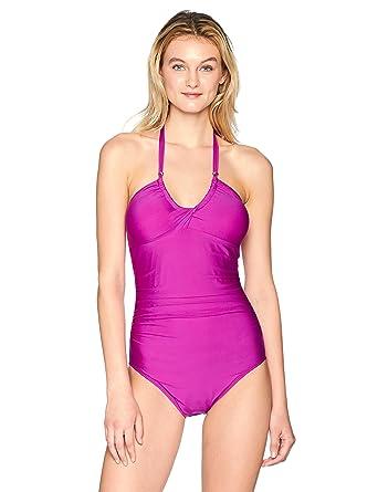 Calvin Klein Mujer CG8MS528 Traje de baño de una Pieza ...