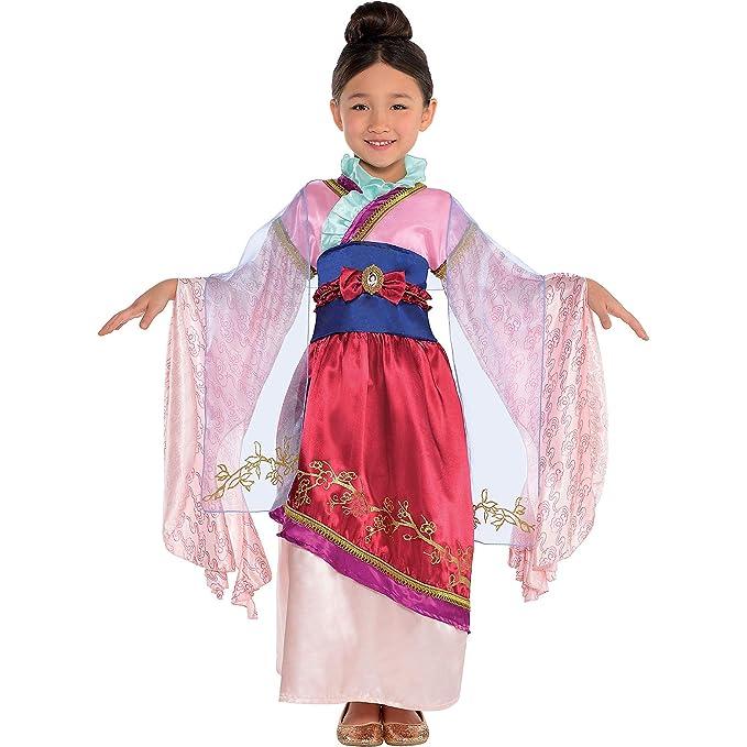 Amazon.com: Disfraz de Mulan clásico para niña, incluye un ...