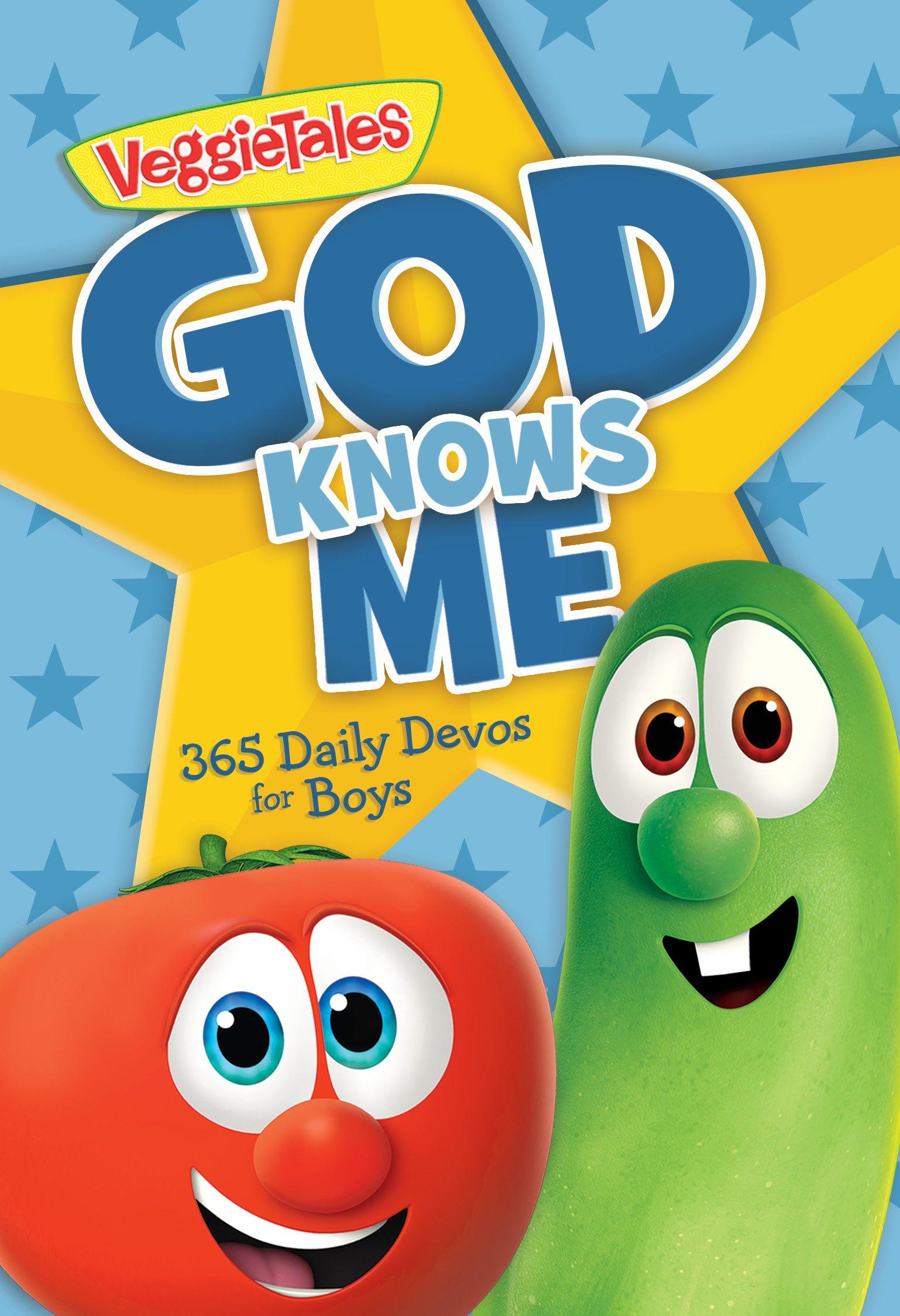 365 Daily Devos for Boys God Knows Me