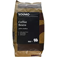 Marque Amazon Solimo café en grains   2 kg (2 x 1 kg)