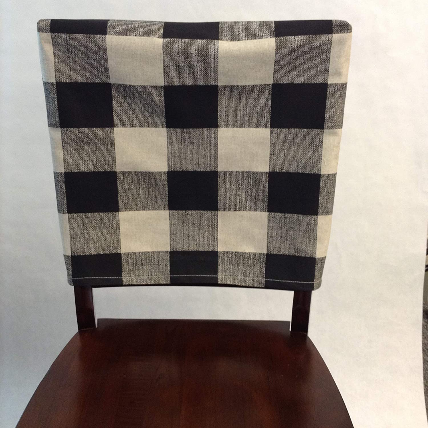 Incredible Chair Back Cover Custom Fabric Slipcover Buffalo Checkered Chair Cover Chair Slipcover Plaid Fabric Checkered Fabric Farmhouse Slipcover Spiritservingveterans Wood Chair Design Ideas Spiritservingveteransorg