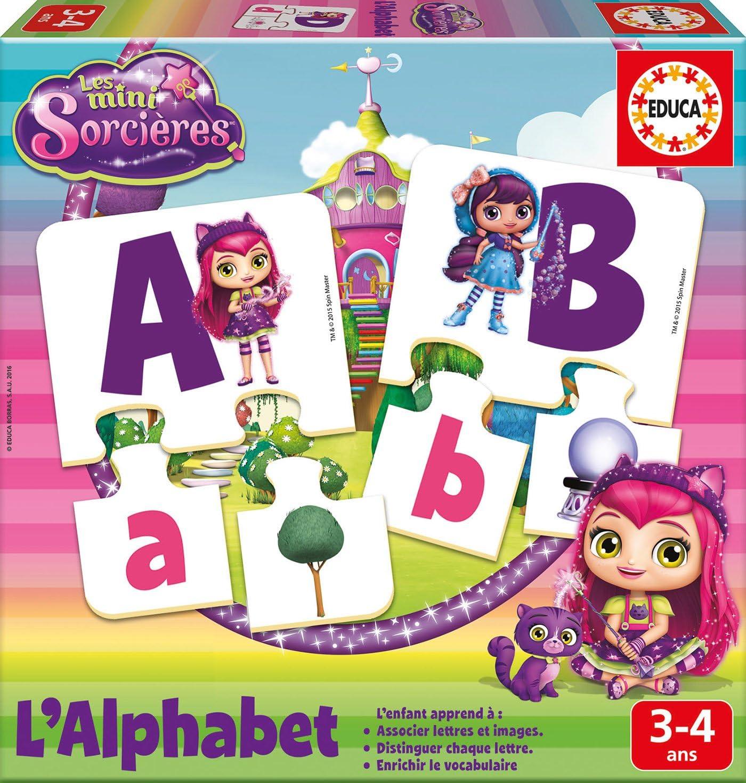 /Ich lerne Alphabet/ /Mini Hexe Educa Borras/ /17219.0/