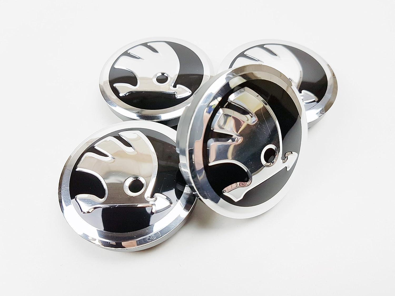 4 x nueva aleación rueda 56 mm Logo centro gorras Hub Caps Set 5ja601151: Amazon.es: Coche y moto