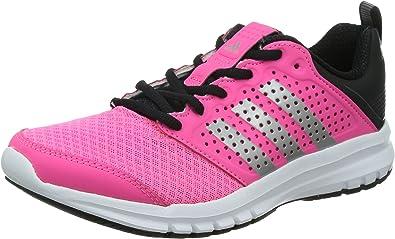 adidas Madoru Woman, Zapatillas de Running para Niñas, Rosa/Blanco/Negro/Plata, 37 1/3 EU: Amazon.es: Zapatos y complementos