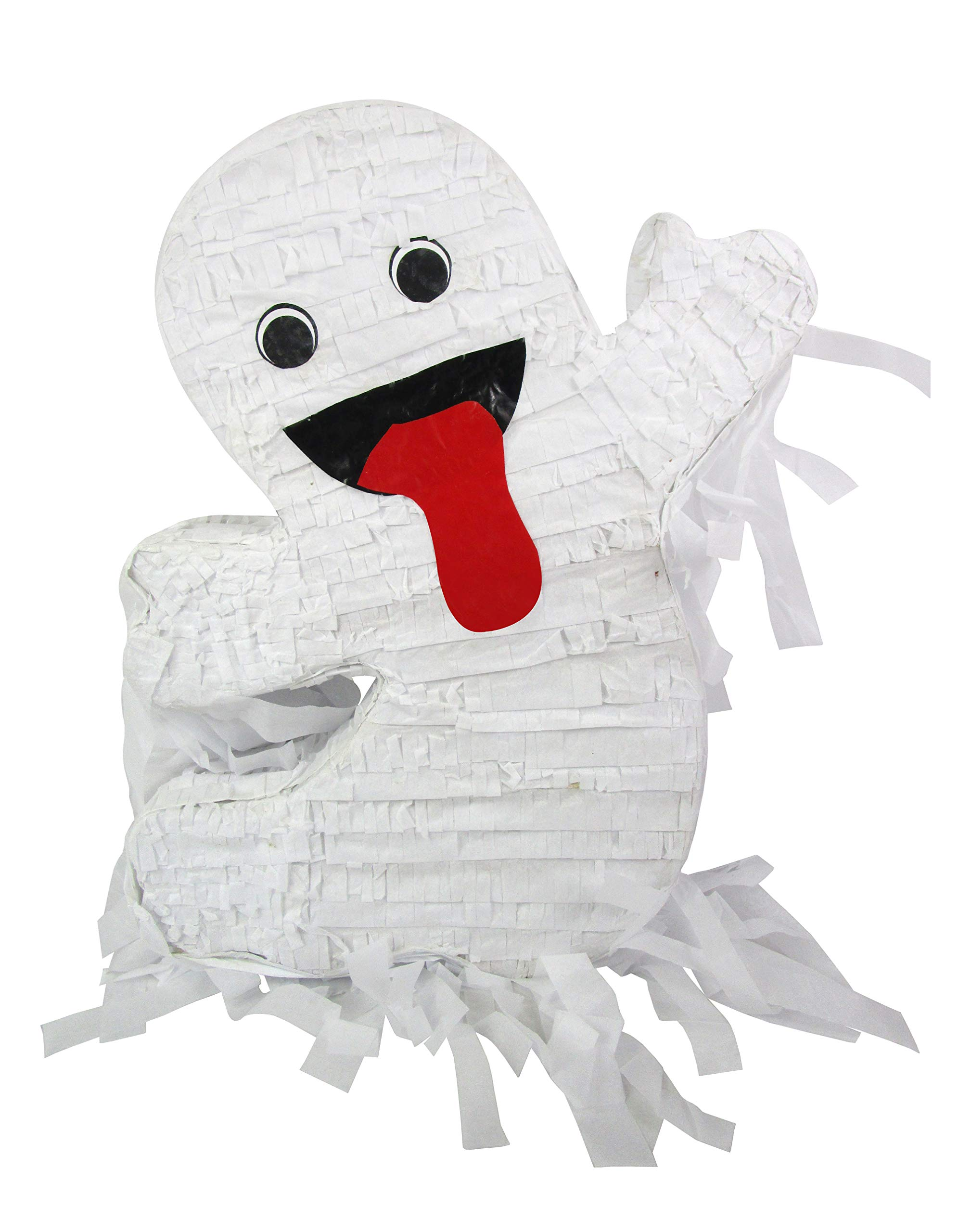 Pinatas Happy Halloween Ghost, 19'' Party Game and Decoration Idea by Pinatas