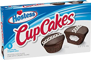product image for Hostess Brands Hostess Cup Cake Multi Pack, Choc, 8 Count of 1.59 Oz Cakes, 12.7 Oz
