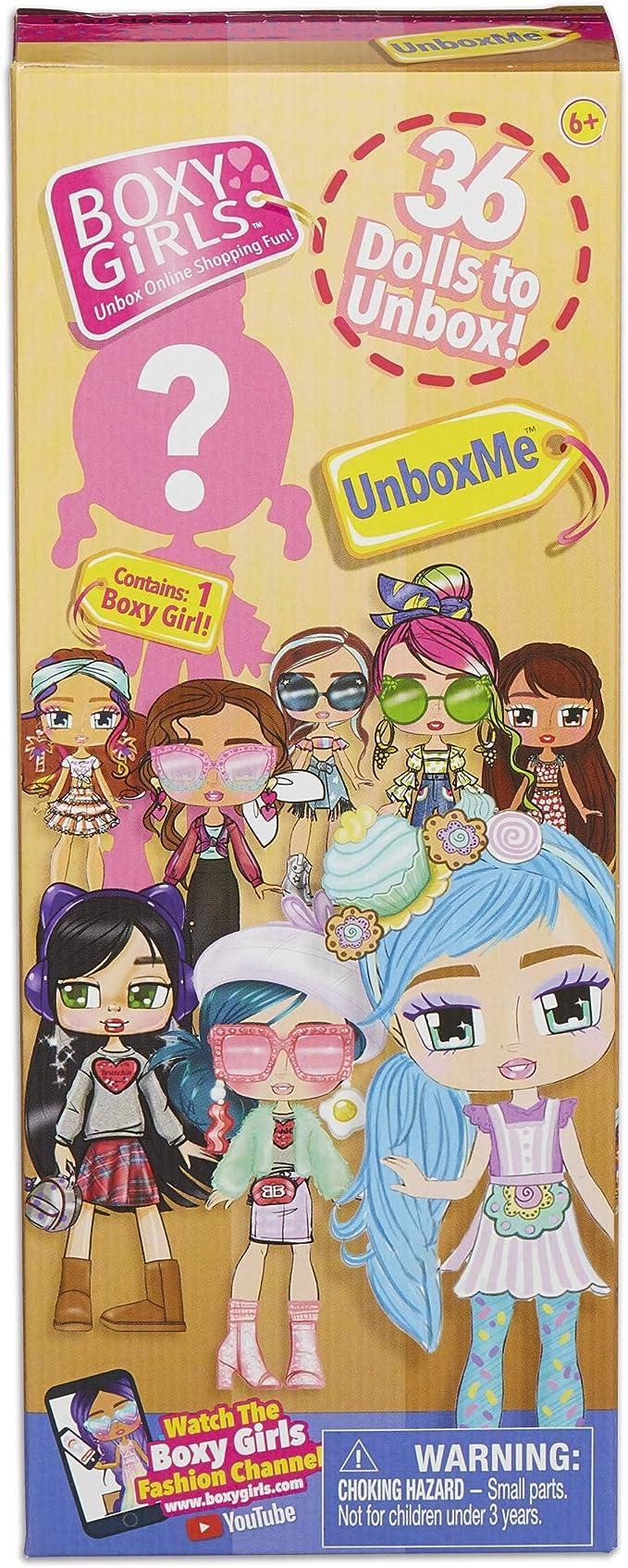 Boxy Girls Unbox Me Doll,Idea Tank,010IT