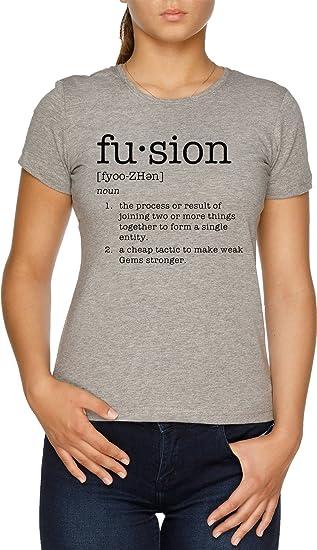 size 40 4368d 7441a Universe Mujer Gris Camiseta Steven Fusion Definiton Vendax 4UnHWfCW