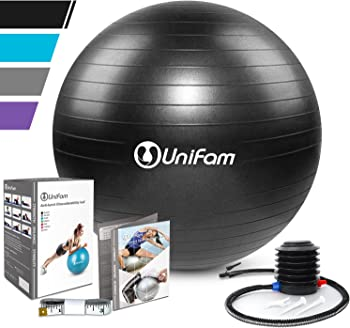 UNI FAM Exercise Stability Ball Chair