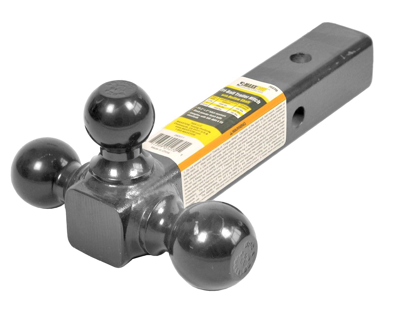 MaxxHaul 70270 Black Triple Ball Mount MaxxTow Towing Products (MAXXR)