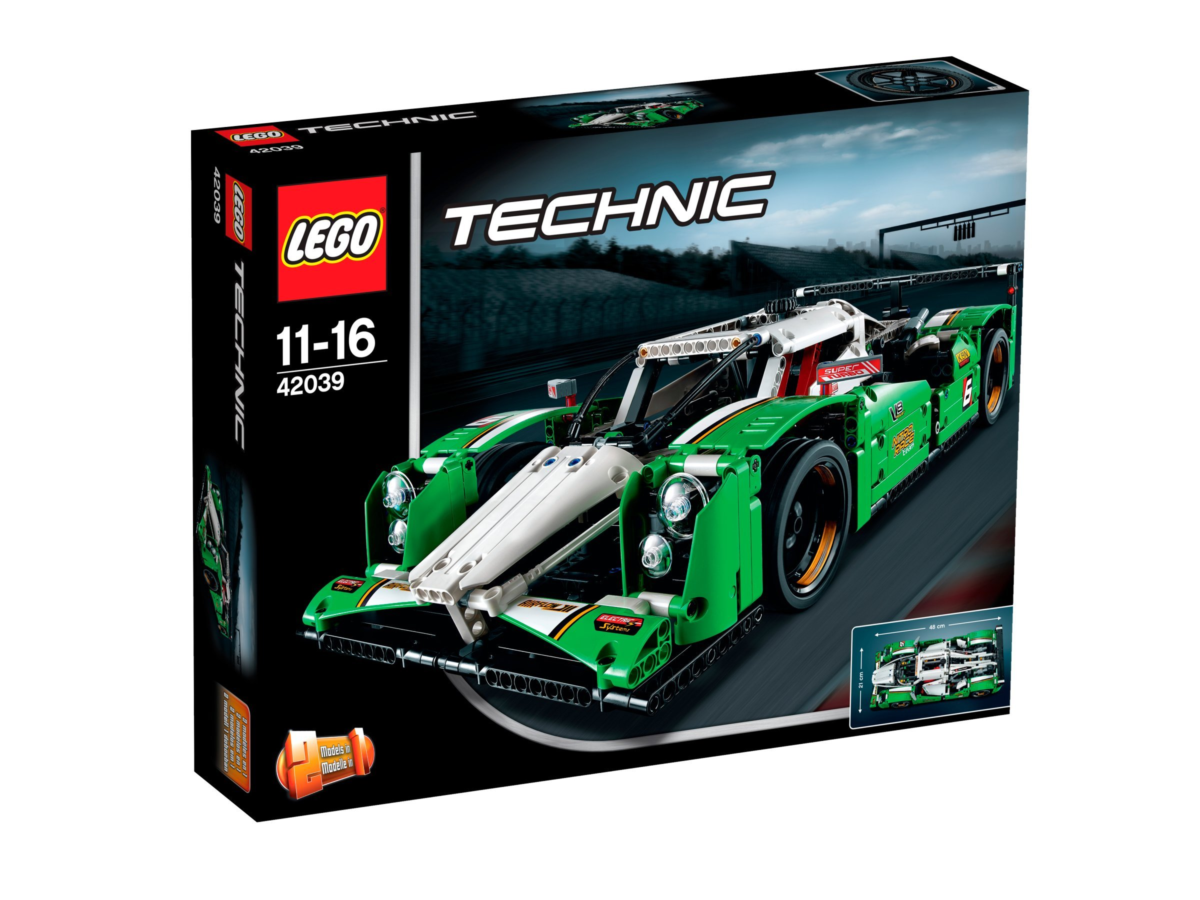 LEGO Technic 24 Hours Race Car 42039 by LEGO (Image #1)