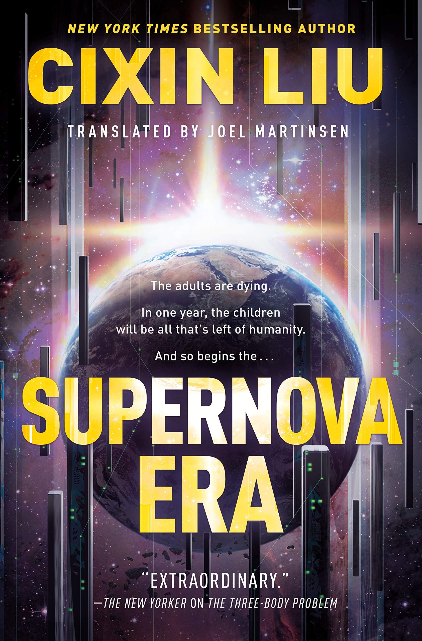 Verwonderend Supernova Era: Liu, Cixin, Martinsen, Joel: 9781250306036: Amazon PN-25