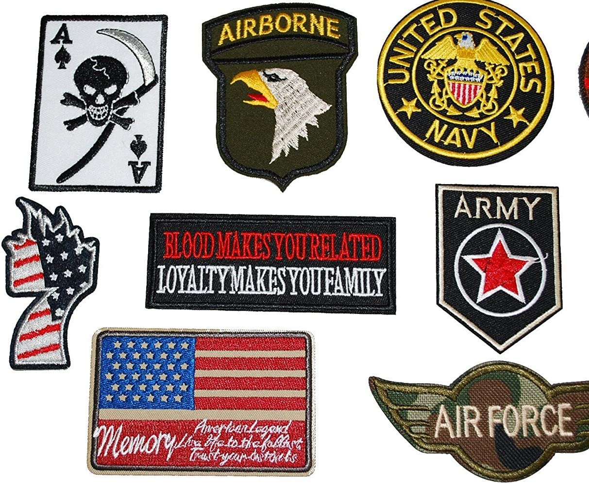 productos militares de Estados Unidos Ejercito de Tierra cuidadosamente seleccionados nuevo emblema de hierro conjunto de 1.0: Amazon.es: Juguetes y juegos
