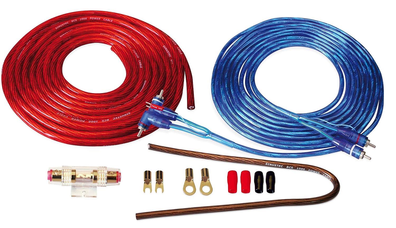 sinustec BCS de 600/Cable para coche amplificador 6/mm2