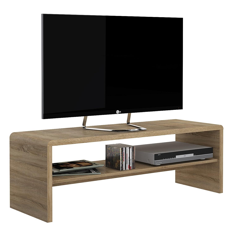 P& N Homewares® Crescita Wide Coffee Table/TV Unit in Oak| Living Room | Furniture | 120cm Wide