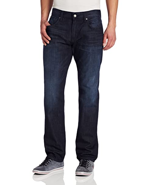 Amazon.com: 7 For All Mankind - Pantalones vaqueros rectos ...