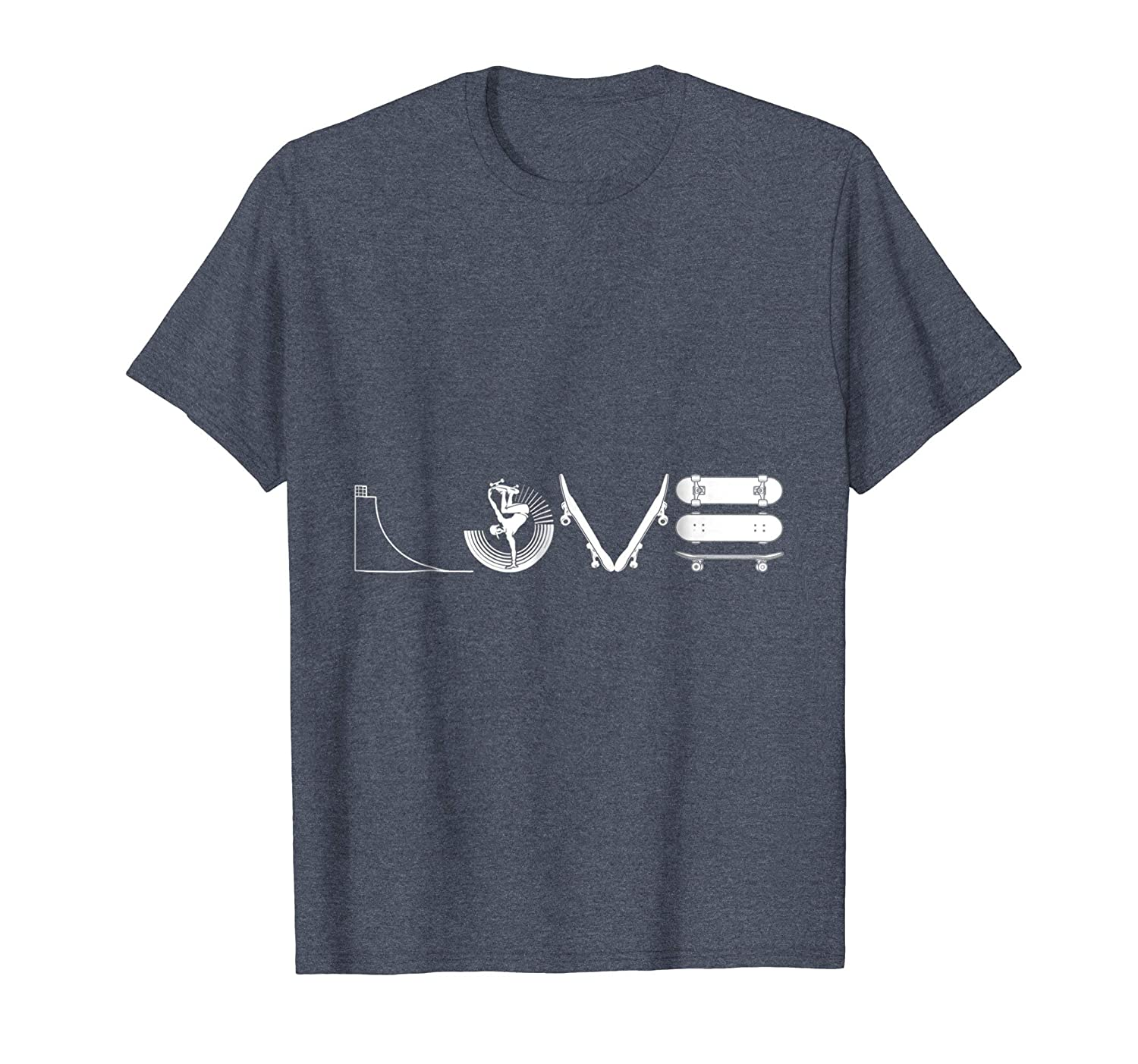 Love Skateboarding T Shirt Love Skateboarding Tees