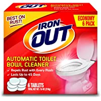 Deals on Iron OUT Automatic Toilet Bowl Cleaner 1 Pack 6 Tablets