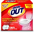 Iron OUT AT46N Cleaner, 6 Tablets, White, 6 Count