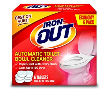 Iron OUT Toilet Bowl Cleaner