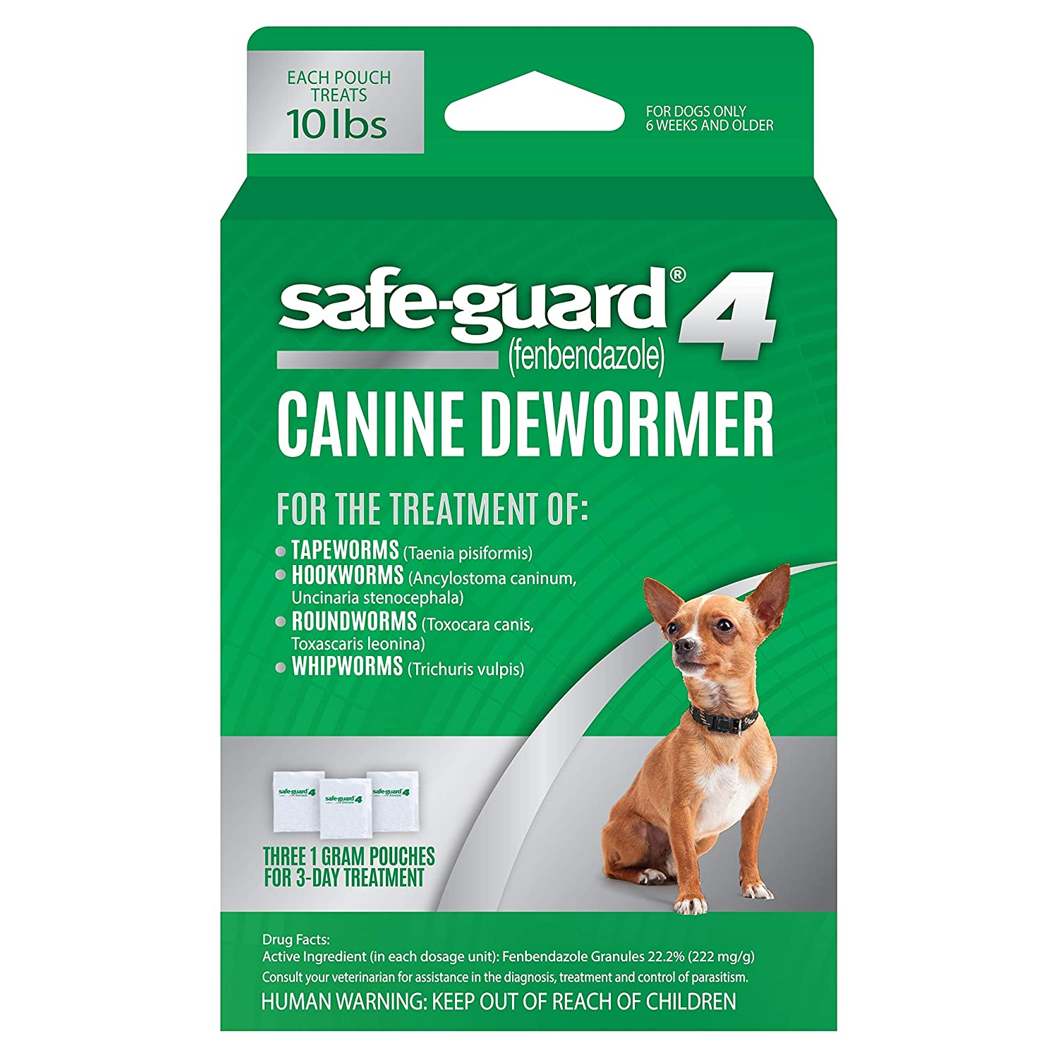 Amazoncom 8in1 Safe Guard Canine Dewormer For Small Dogs 3 Day