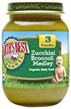 Earth's Best Organic Stage 3 Baby Food, Zucchini