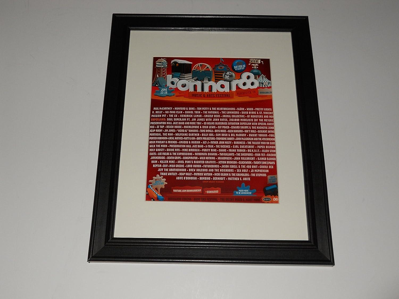 com cleveland vinyl framed bonnaroo mini poster