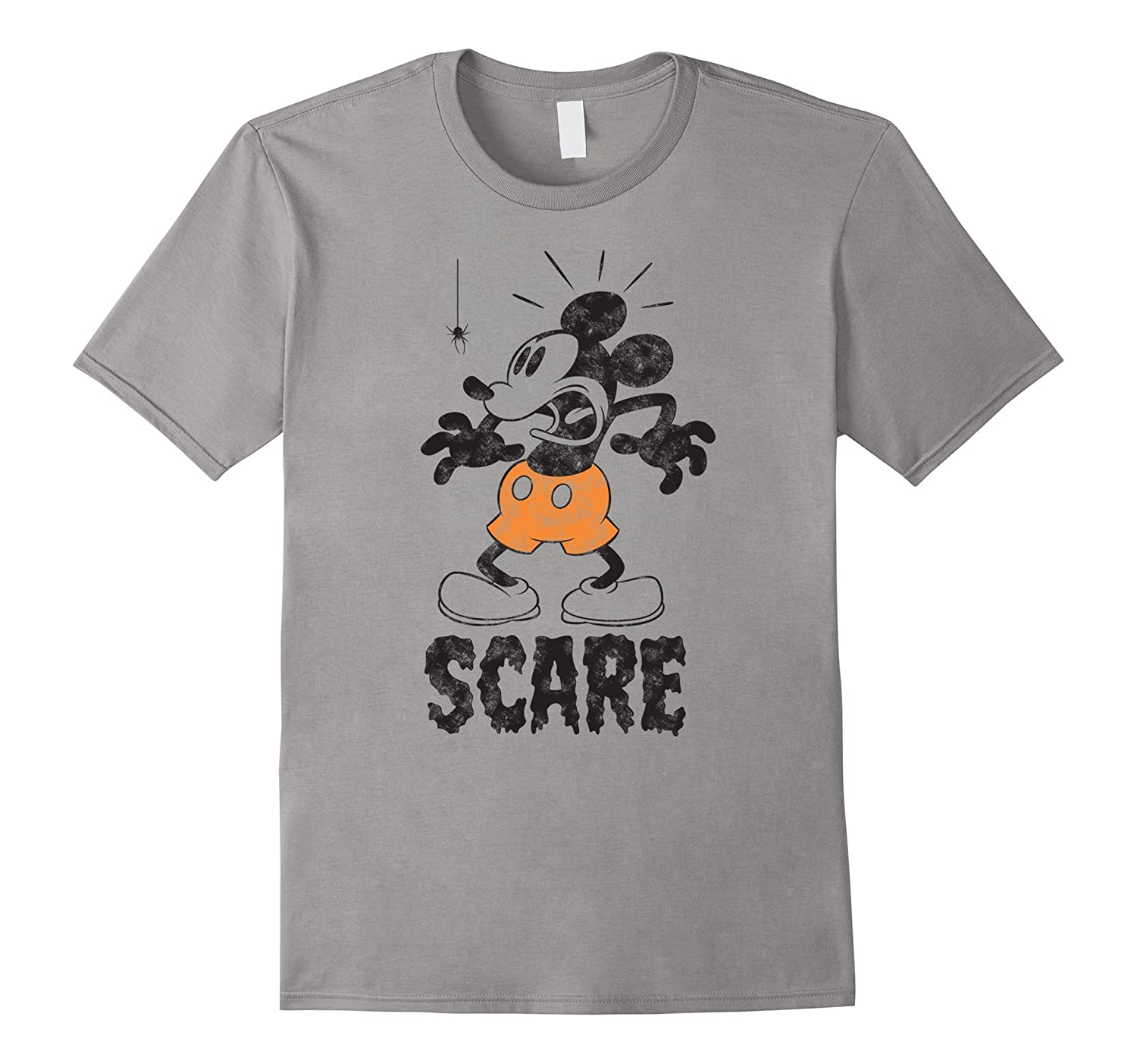 Disney Mickey Mouse Scare Halloween T Shirt