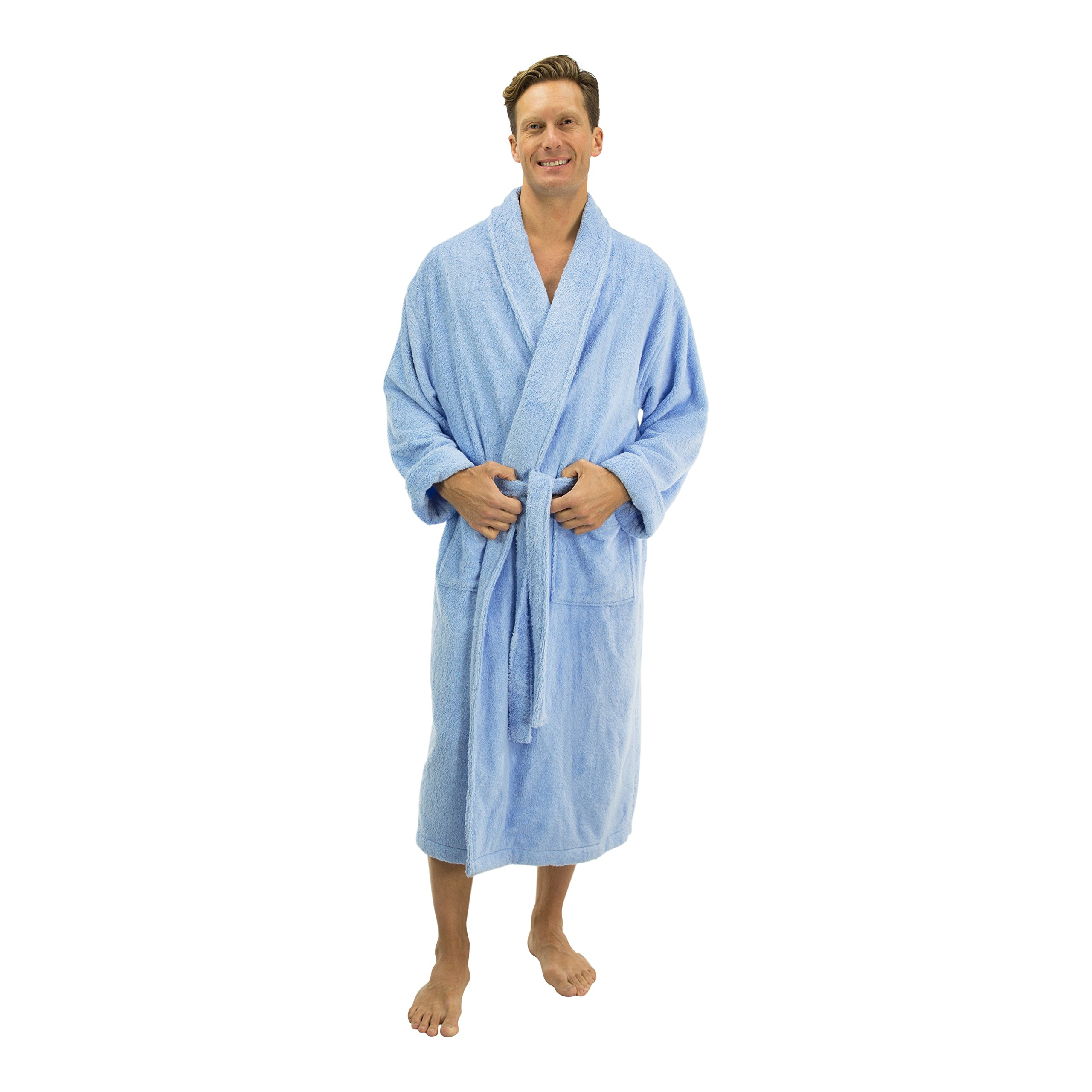 38623bf9d3 Comfy Robes Men s Bamboo Shawl Collar Robe