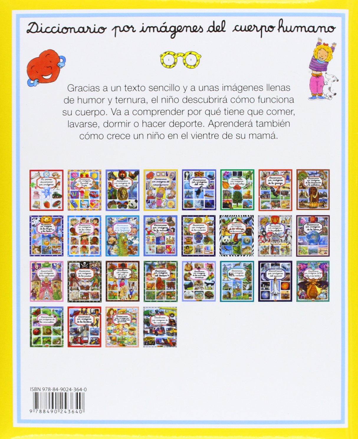 Diccionario Por Imágenes Del Cuerpo Humano: Amazon.es: Vv.Aa.: Libros