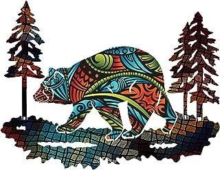 product image for Next Innovations Metal Bear Wall Art Columbine Medium Bear