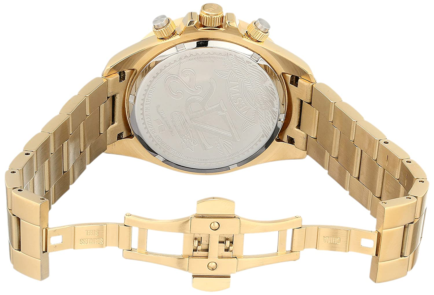 Amazon.com: Vestal Mens ZR2024 ZR-2 Analog Display Japanese Quartz Gold Watch: Vestal: Watches