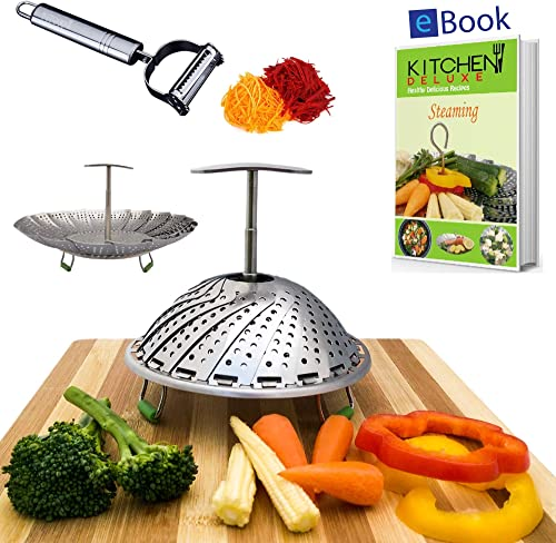 Kitchen Deluxe Vegetable Steamer Basket