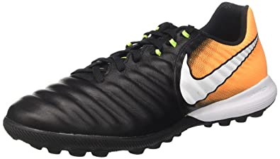 6ec091a32 NIKE Tiempox Finale TF Mens Soccer-Shoes 897764-008 9 - Black White-