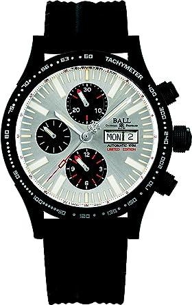 Reloj Ball Fireman Storm Chaser DLC Glow, Acero, Cronógrafo, Ed.Limitada: Amazon.es: Relojes