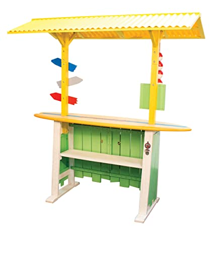 Amazon.com : Margaritaville Home Outside Deck Party Bar With Roof : Garden  U0026 Outdoor